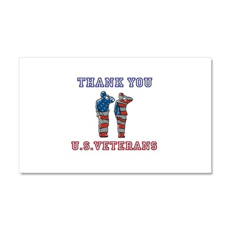 Thanks to our U.S. Vets Car Magnet 20 x 12