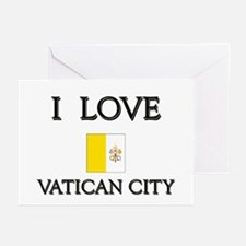 I Love Vatican City Greeting Cards (Pk of 10)