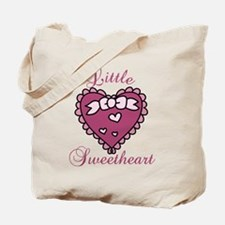 Little Sweetheart Tote Bag