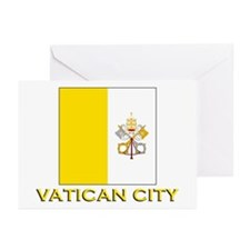 Vatican City Flag Merchandise Greeting Cards (Pack