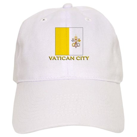 Vatican City Flag Merchandise Cap