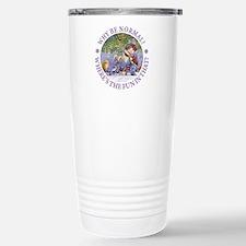 Why Be Normal? Travel Mug