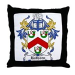 Hathorn Coat of Arms Throw Pillow