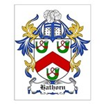 Hathorn Coat of Arms Small Poster