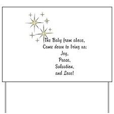 Christmas hope Yard Sign
