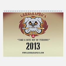 GRRRGraphics 2013 Wall Calendar