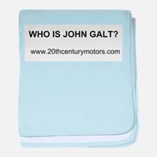 Who Is John Galt with link baby blanket
