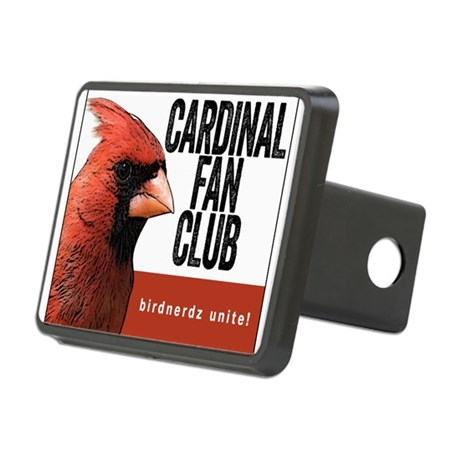 Cardinal Fan Club Rectangular Hitch Cover