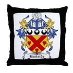 Hartside Coat of Arms Throw Pillow