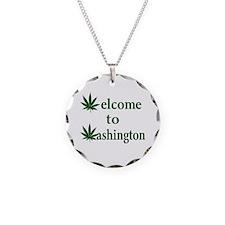 Welcome to Washington Marijuana Necklace