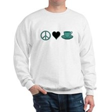 Peace, Love Coffee Jumper