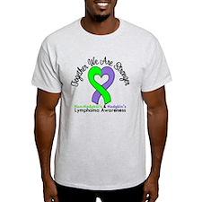 Lymphoma Together Stronger T-Shirt