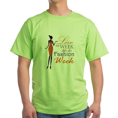dv_designs Green T-Shirt