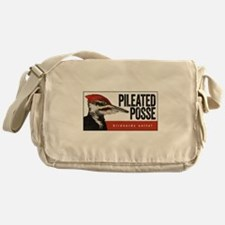 Pileated Posse Messenger Bag