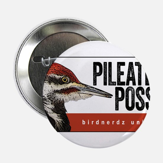 """Pileated Posse 2.25"""" Button"""
