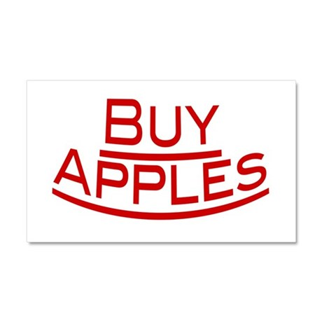 Buy Apples Car Magnet 20 x 12