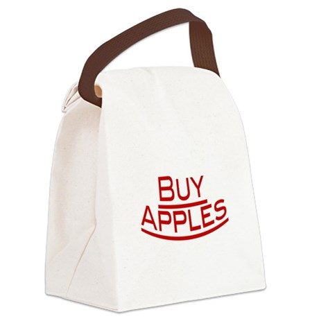 Buy Apples Canvas Lunch Bag