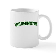 WASHINGTON with Pot Leaves Mug