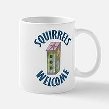Squirrels Welcome Mug
