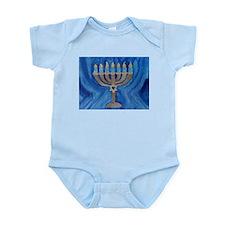HANUKKAH MENORAH Infant Bodysuit