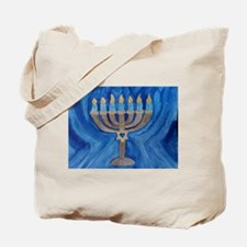 HANUKKAH MENORAH Tote Bag