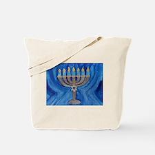 HANUKKAH MENORAH Tote Bag