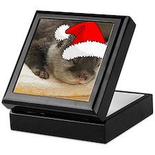 Christmas Otter Keepsake Box