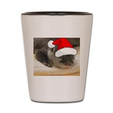 Christmas Otter Shot Glass