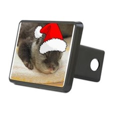 Christmas Otter Hitch Cover