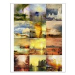 Collage of Turner Landscapes Small Poster