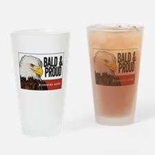 Bald & Proud Eagle Drinking Glass