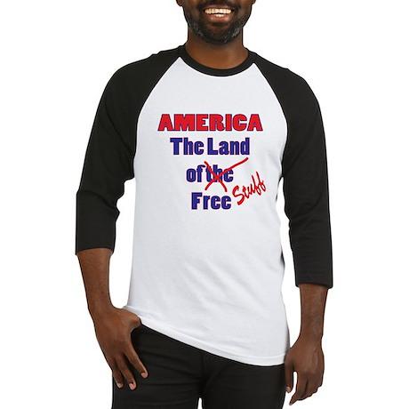 Land of Free Stuff Baseball Jersey