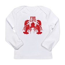Lobsters Mate For Life Long Sleeve Infant T-Shirt