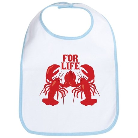 Lobsters Mate For Life Bib