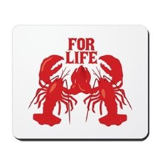 Lobsters Mate For Life Mousepad