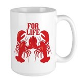 Lobster Large Mugs (15 oz)