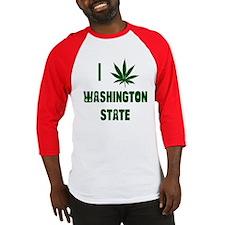 I Love Washington State Baseball Jersey