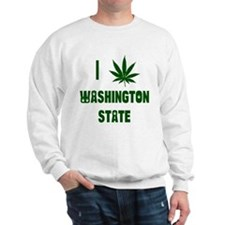 I Love Washington State Sweatshirt
