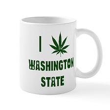I Love Washington State Mug