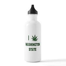I Love Washington State Water Bottle
