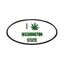 I Love Washington State Patches