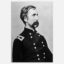 Digitally restored vector portrait of General Josh