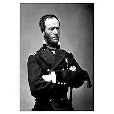 Digitally restored vector portrait of General Will