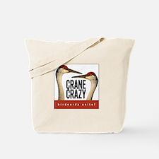 Crane Crazy Tote Bag