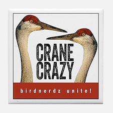 Crane Crazy Tile Coaster