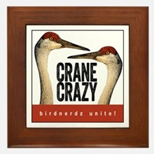Crane Crazy Framed Tile