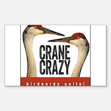 Crane Crazy Decal