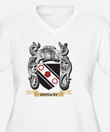 Conway Family Crest - Conway Coa Plus Size T-Shirt