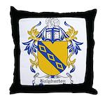 Halyburton Coat of Arms Throw Pillow