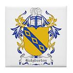 Halyburton Coat of Arms Tile Coaster